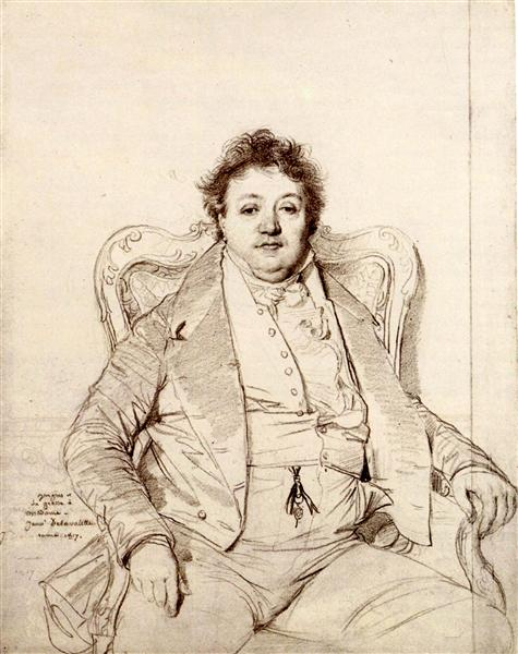 Charles Thevenin - Jean Auguste Dominique Ingres