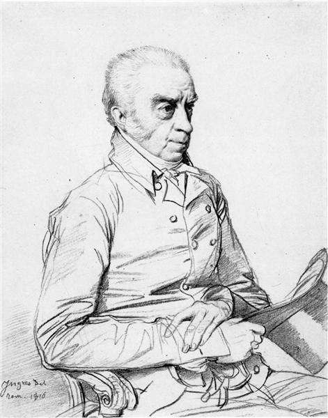 Dr. Thomas Church - Jean Auguste Dominique Ingres