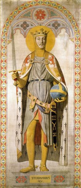 Duke Ferdinand-Philippe of Orleans, as St. Ferdinand of Castile, 1842 - Jean Auguste Dominique Ingres