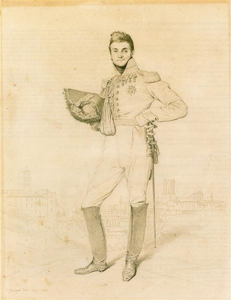 General Louis-Etienne Dulong de Rosnay, 1818 - Jean-Auguste-Dominique Ingres