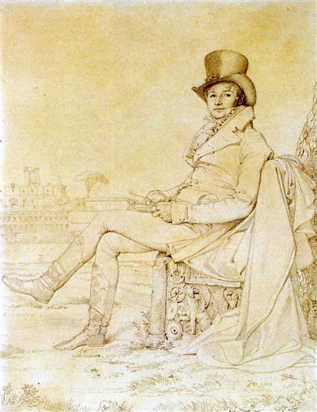 Lucien Bonaparte - Jean Auguste Dominique Ingres