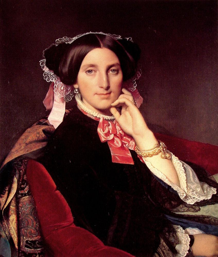 Madame Jean Auguste Dominique Ingres, born Delphine Ramel
