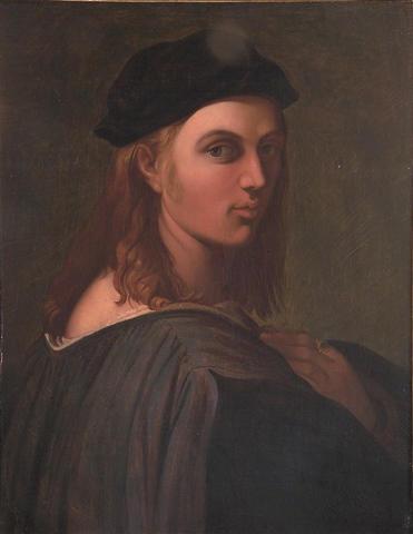 Portrait of Bindo Altoviti - Jean Auguste Dominique Ingres