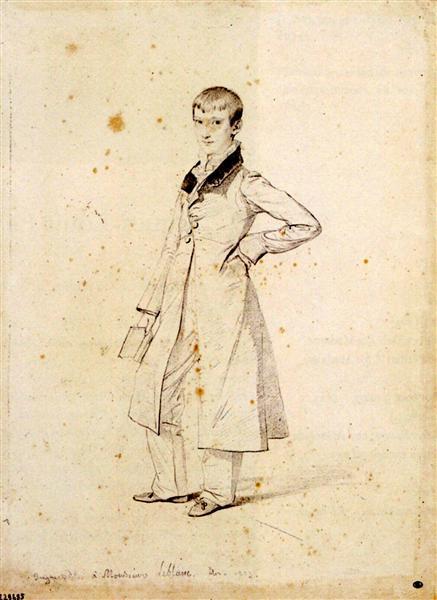 Portrait of Felix Leblanc, 1823 - Jean Auguste Dominique Ingres
