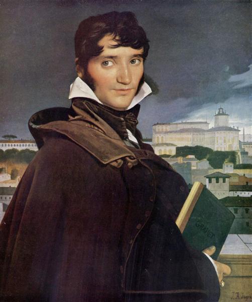 Portrait of Francois-Marius Granet, 1807 - Jean Auguste Dominique Ingres
