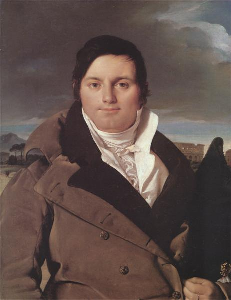 Portrait of Joseph-Antoine Moltedo, c.1810 - Jean Auguste Dominique Ingres