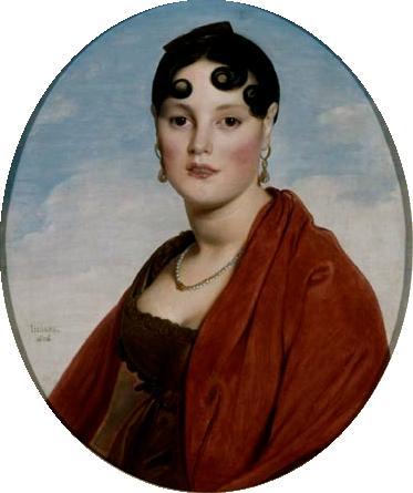 Портрет мадам Аймон, прекрасной Целии, 1806 - Жан Огюст Доминик Энгр