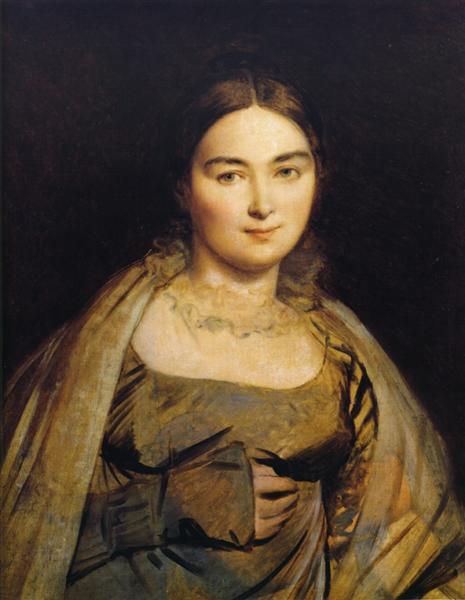 Portrait of Madame Ingres, 1815 - Jean Auguste Dominique Ingres