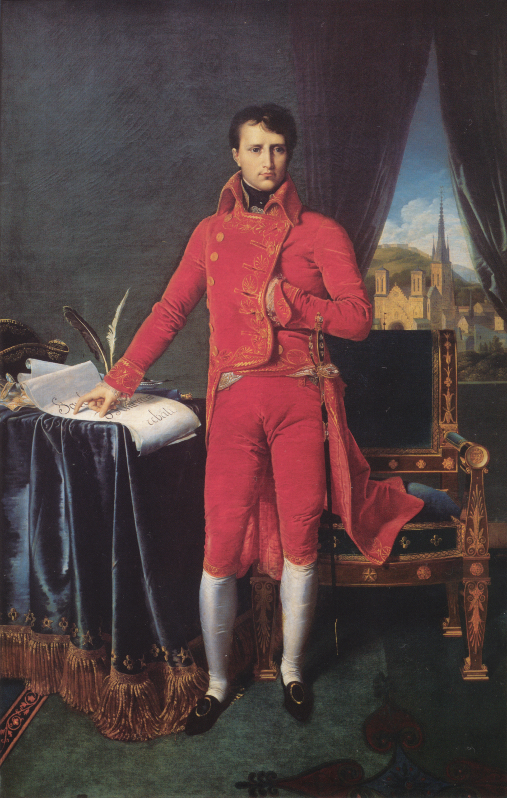 Portrait of Napoléon Bonaparte, The First Council, 1804