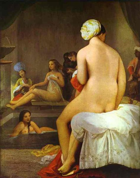 The Small Bather, 1828 - Jean Auguste Dominique Ingres