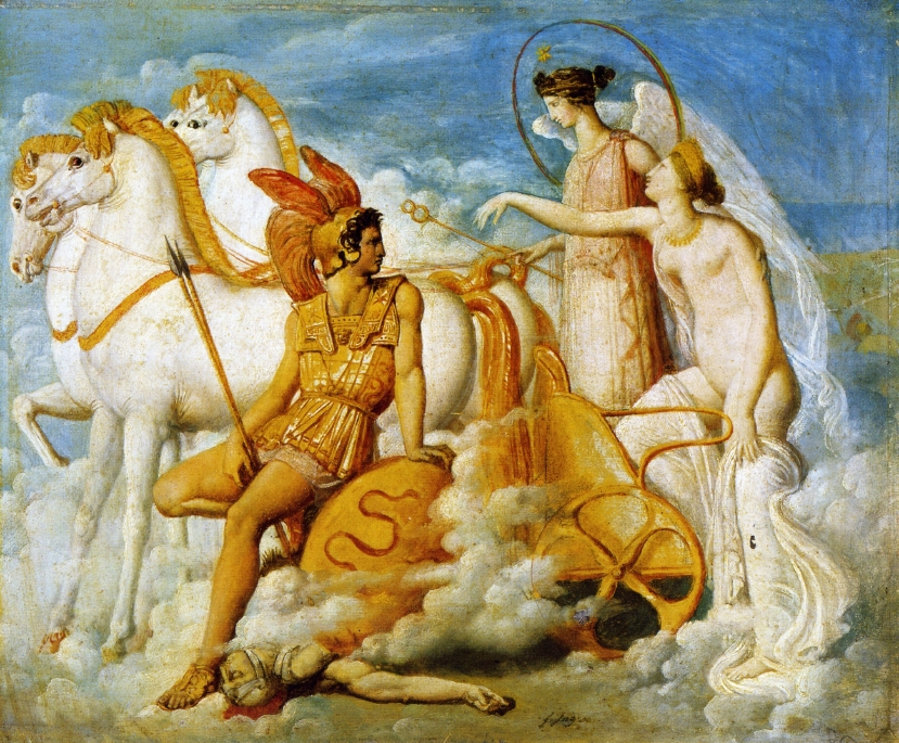 Venus, Wounded by Diomedes, Returns to Olympus, 1800