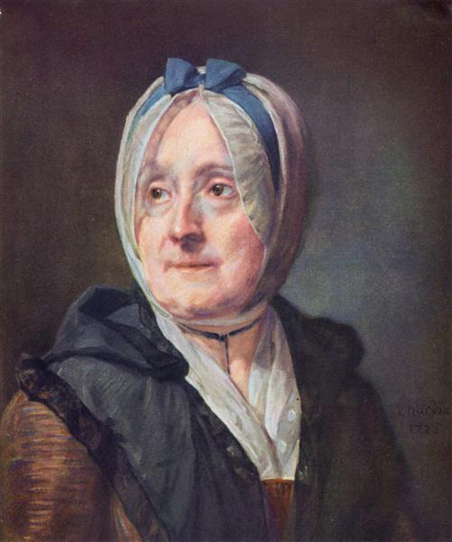 Portrait of Françoise Marguerite Pouget, 1775 - Jean-Baptiste-Simeon Chardin