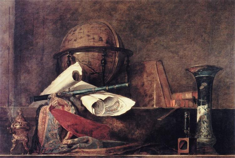 The Attributes of the Sciences, 1731 - Jean-Baptiste-Simeon Chardin