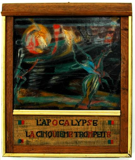 L'apocalypse, 5ème trompette, 1973 - Жан Бертоль