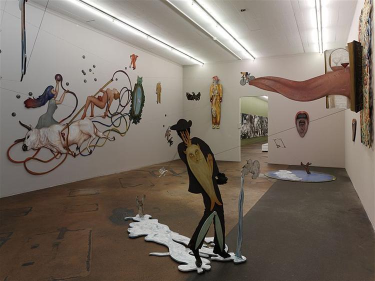 Babil Babylone (installation view) - Jean-Claude Silbermann