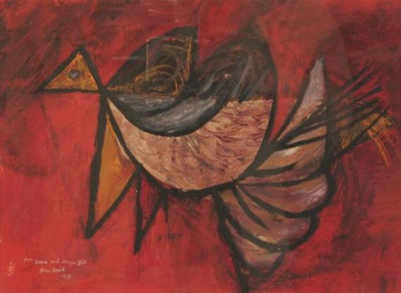 Bird, 1958 - Jean David