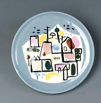 City Scape (Ceramic) - Жан Давид