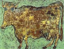 The Cow With The Subtle Nose - Jean Dubuffet