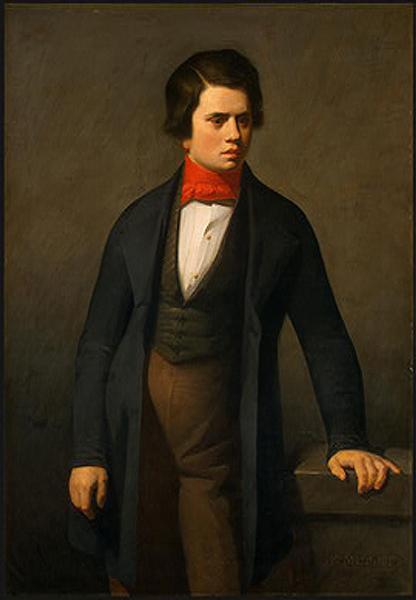 Leconte de Lisle, c.1840 - Jean-Francois Millet