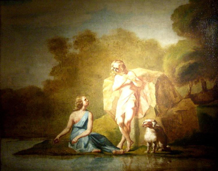 Shepherds of Arcadia, c.1842 - 1843 - Jean-Francois Millet