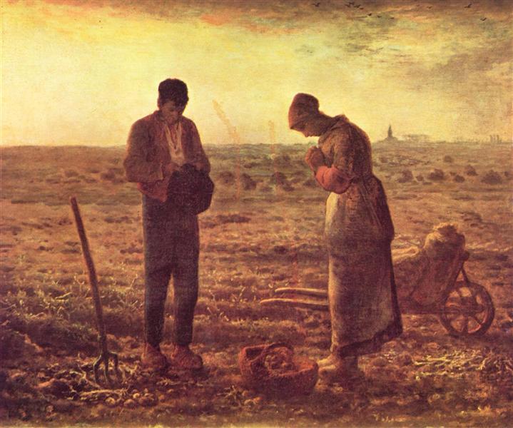 The Angelus - Millet Jean-Francois