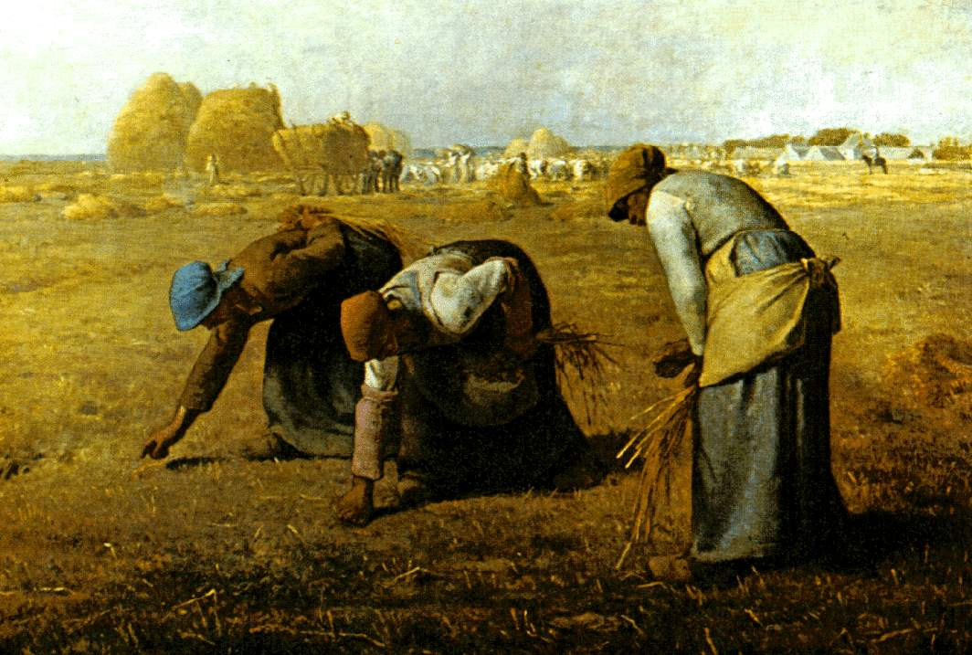The Gleaners, 1857 - Jean-Francois Millet - WikiArt.org