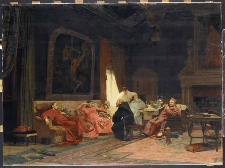 The Missionary's Adventures - Jehan Georges Vibert