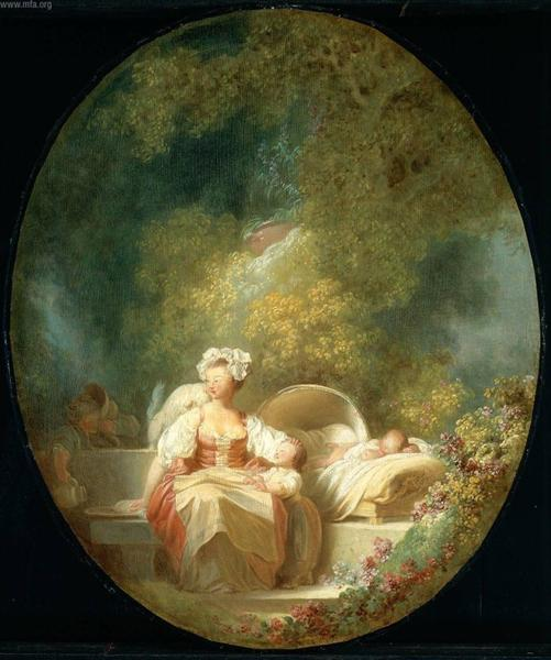 The Good Mother - Jean-Honore Fragonard
