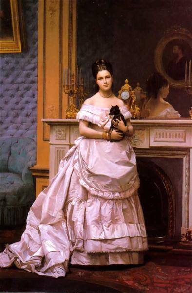 Portrait of a Lady, 1867 - Jean-Leon Gerome