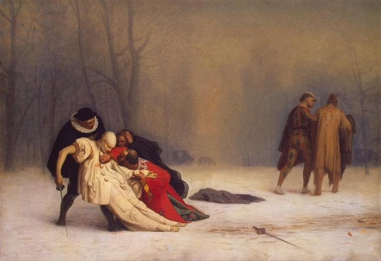 The Duel after the Masquerade, 1859 - Jean-Leon Gerome