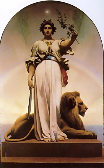 The Republic - Jean-Leon Gerome