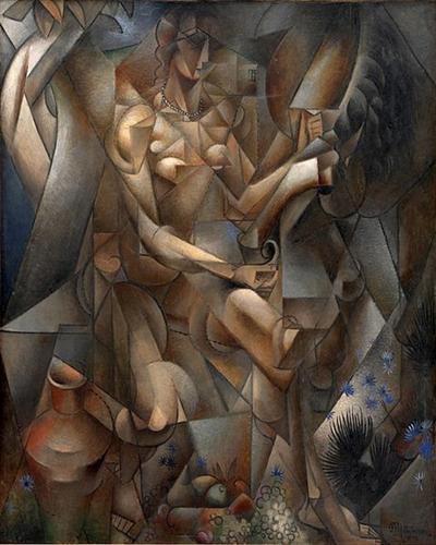 La Femme au Cheval - Jean Metzinger