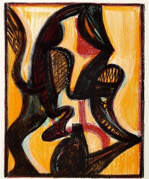 Orient, 1957 - Jean-Michel Atlan