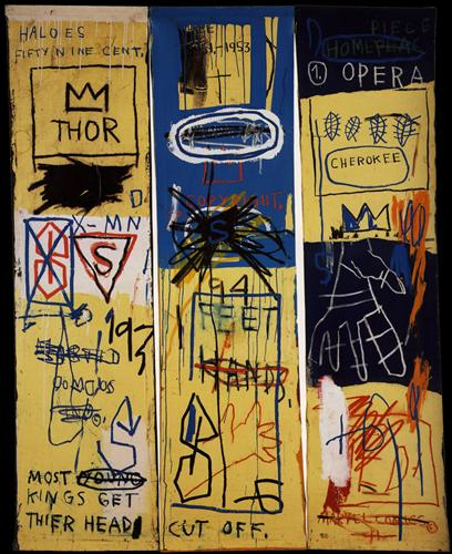 Charles the First - Jean-Michel Basquiat