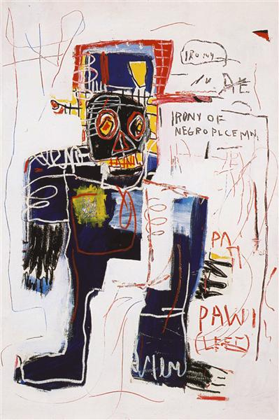 Irony of the Negro Policeman, 1981 - Jean-Michel Basquiat