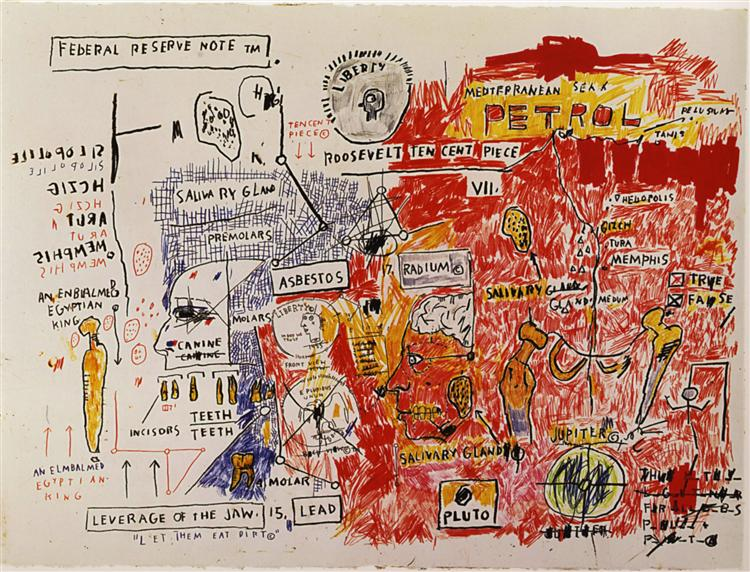 Liberty, 1983 - Jean-Michel Basquiat