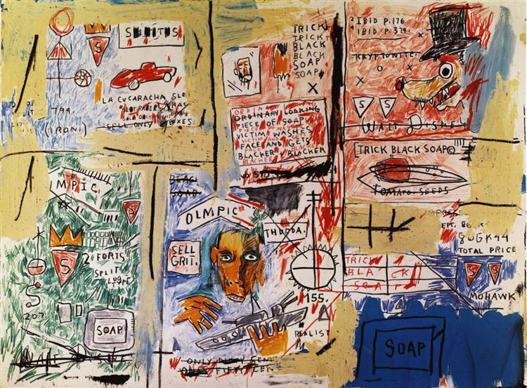 Olympic, 1983 - Jean-Michel Basquiat