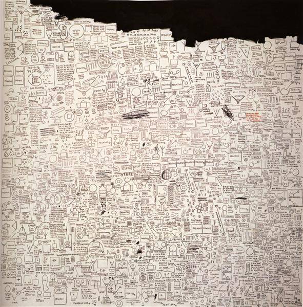 Pegasus, 1987 - Jean-Michel Basquiat