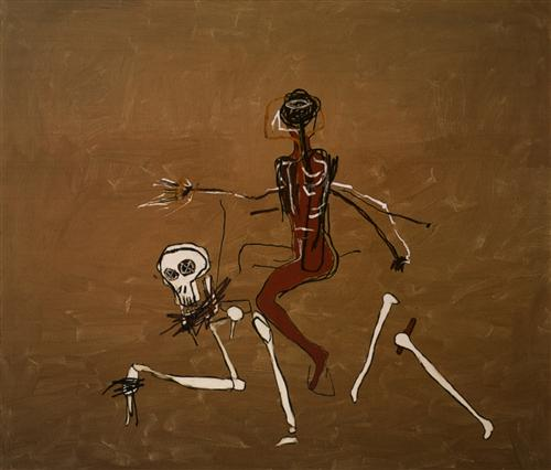 Riding with Death - Jean-Michel Basquiat