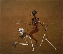Riding with Death - Jean-Michel Basquiat