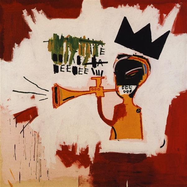 Trumpet, 1984 - Jean-Michel Basquiat
