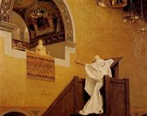 John Chrysostom and Aelia Eudoxia - Jean-Paul Laurens