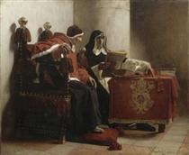 Le pape et l'inquisiteur - Jean-Paul Laurens