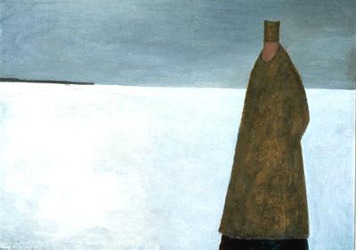 Evening Visitor, 1956 - Jean Paul Lemieux