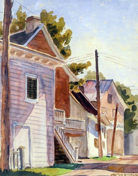 Rue de village, 1931 - Жан-Поль Лемьє