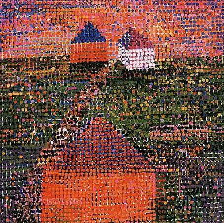 Houses, 2005 - Jennifer Bartlett