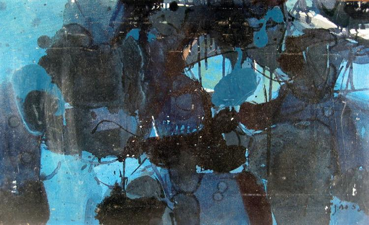 Untitled, 1950 - Jiro Yoshihara