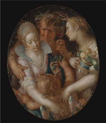 Bacchus between Ceres and Venus - Йоахим Эйтевал