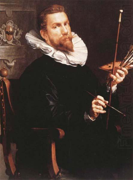 Self portrait, 1601 - Йоахим Ейтевал
