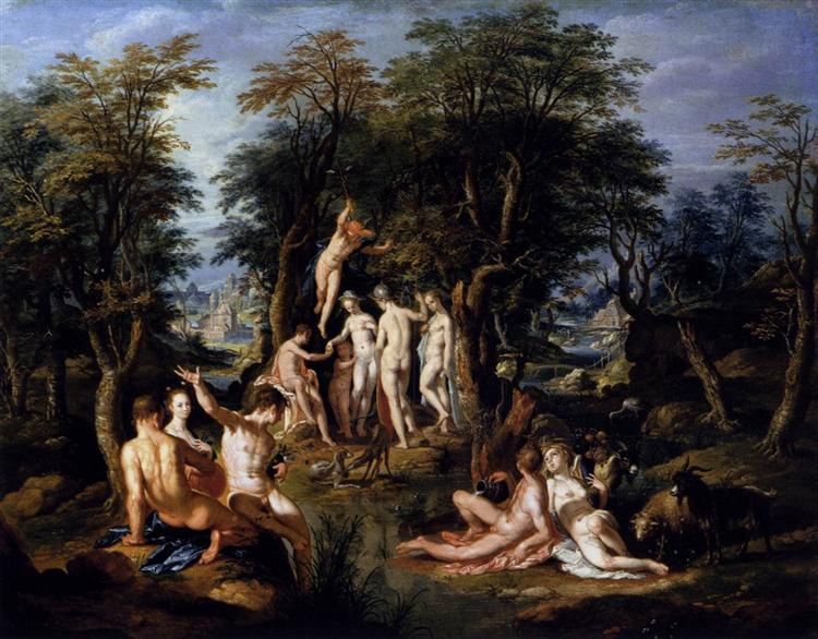 The Judgment of Paris, c.1605 - Йоахим Ейтевал